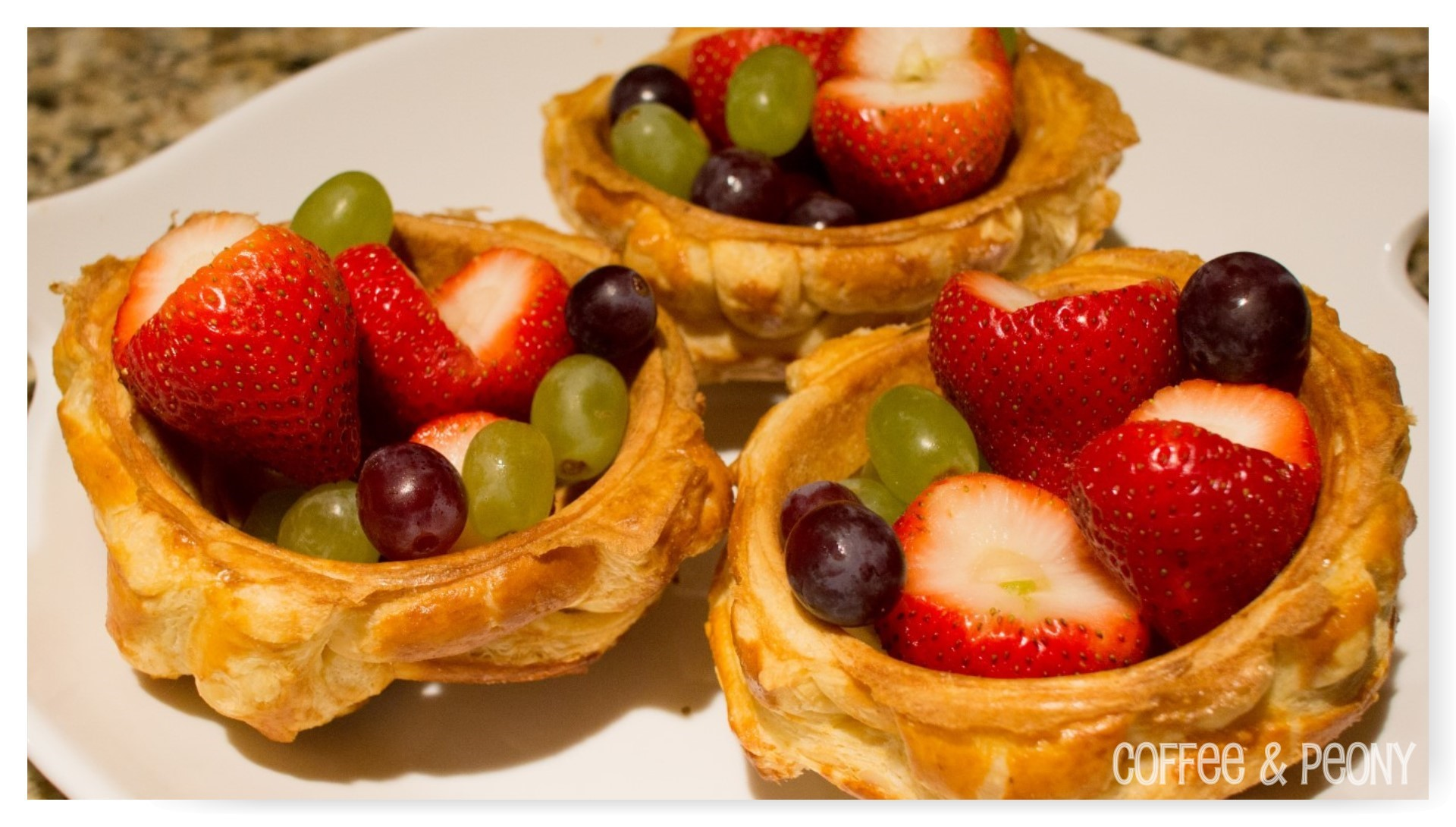 Puff Pastry Basket